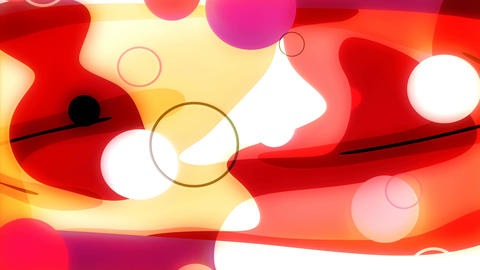 Bodega 4k - Colorful Abstract Video Background Loop CG動画素材
