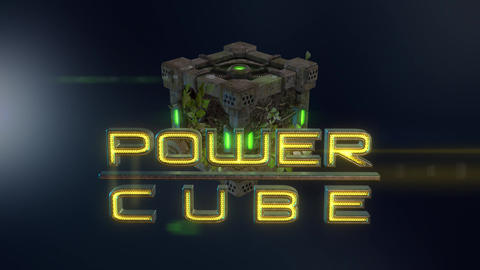 Power Cubes: Earth Cube – Hi-tech Dirt Elemental Cube Opener After Effects Template