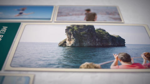 Travel Memories Opener folder After Effects Template