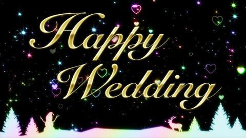Happy Wedding Animation