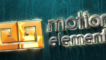 Shiny Golden Logo After Effects Templates