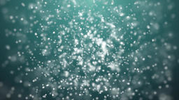 Abstract background with glowing lines rotation particles… Stock Video Footage