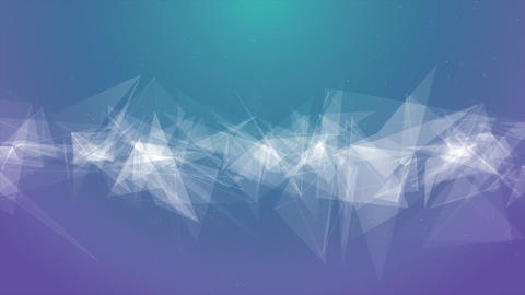 Smooth Abstract Polygons Waves Seamless Loop Motion Background Animation