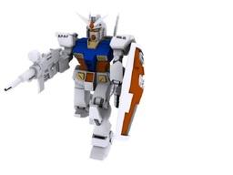 Maqueta de robot plastic 3D Model
