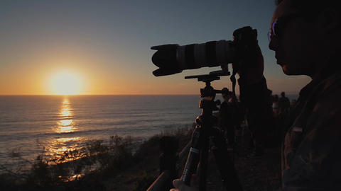 Photographer Camera Turn Footage