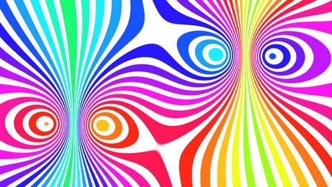 Abstarct 60's Style (loop) Animation