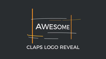 Claps Logo Reveal | 4k 60FPS After Effects Template