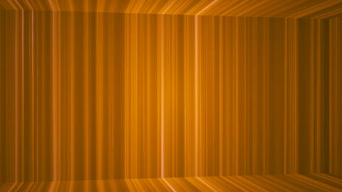 Broadcast Vertical Hi-Tech Lines Passage, Orange, Abstract, Loopable, 4K CG動画素材