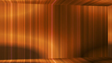 Broadcast Vertical Hi-Tech Lines Passage, Golden, Abstract, Loopable, 4K CG動画素材