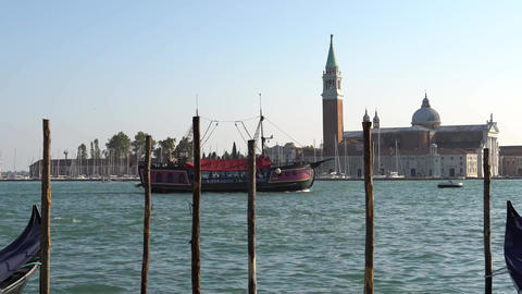 VENICE, ITALY - OCTOBER, 2017: Majestic grand canal in…, Live Action