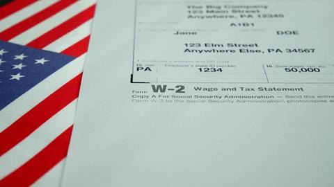 W-2 tax form Copy A 2017 Live Action