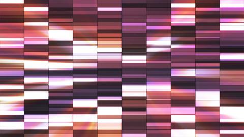 Twinkling Horizontal Small Squared Hi-Tech Bars, Purple, Abstract, Loopable, 4K Animation