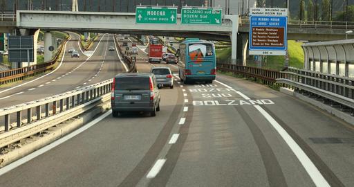 Highway road Journey Footage