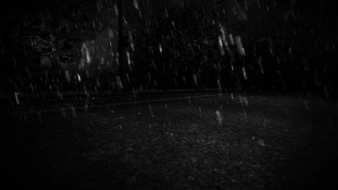 Urban Rain Splash Animation