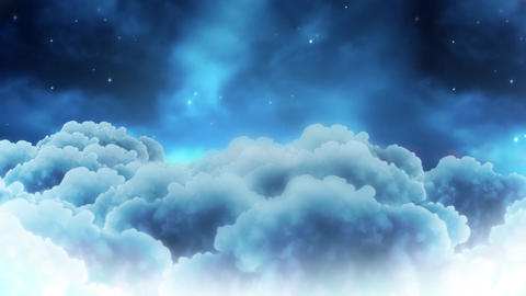 Head In The Clouds Title Plate Animation