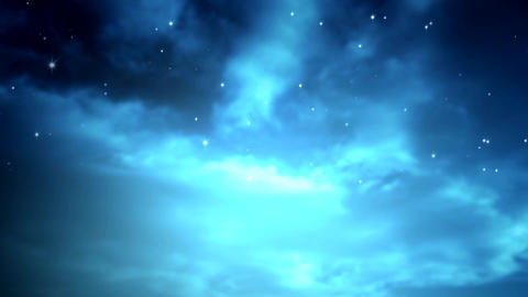 Starry Nights Effect Animation