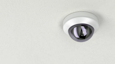 Dome security camera Animation