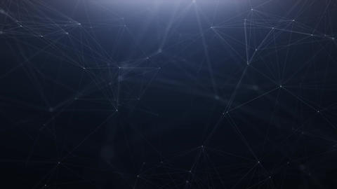Plexus technology abstract line background Animation