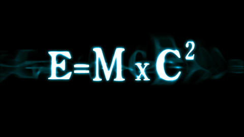 Einstein's Formula E=mc2 Animation