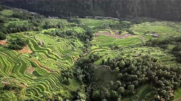 Aerial photography in Guizhou, China Footage