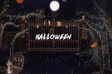 Halloween Title After Effects Template