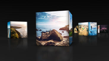 Box Slideshow After Effects Template