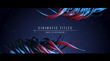 Cinematic Titles and Slideshow Plantilla de After Effects