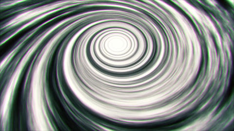BW Space Time Warp Vortex Animation Background Backdrop Animation