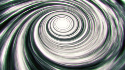 BW Space Time Warp Vortex Animation Background Backdrop Animation