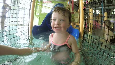 Swiming Footage