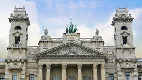 Budapest Ethnographic Museum, Hungary, 4k Footage