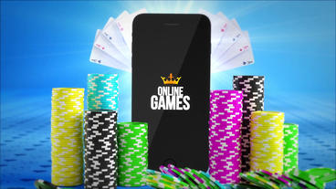 Iphone Poker Logo Reveal After Effects Template
