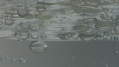 Bubbles Under the Surface of Water Footage