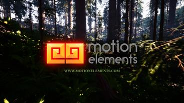 Forest Logo After Effectsテンプレート