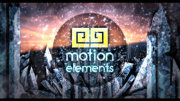 Ice Frozen Logo 6 After Effects Templates