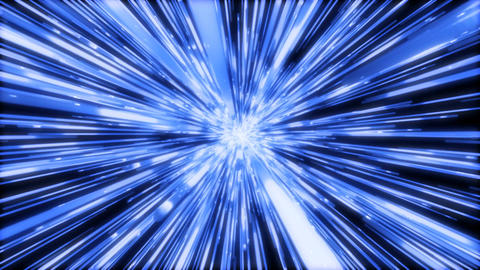 Space Tunnel abstract CG動画素材