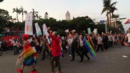 Taipei Gay Pride 2017 Taipei Taiwan Footage