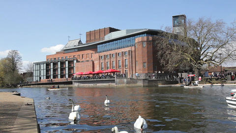 Royal Shakespeare Theatre Stratford Live Action