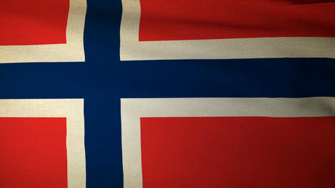 Flag Norway 05 Animation