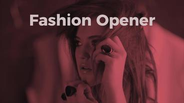 Fashion Opener 프리미어 프로 템플릿