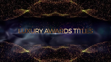 Luxury Awards Titles ( AE Template ) After Effectsテンプレート
