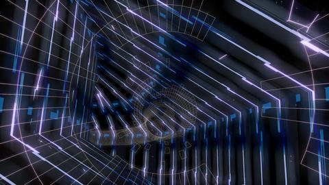 Vj Loop Geometric Abstract Scifi 애니메이션