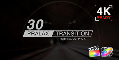 Paralax Transition Apple Motion Template