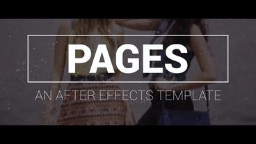 Pages After Effects Template
