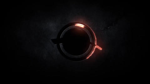 Dark Light Logo Reveal After Effectsテンプレート