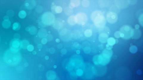 4K Blue abstract abstract background with blur bokeh and lighting effect 001 Live Action