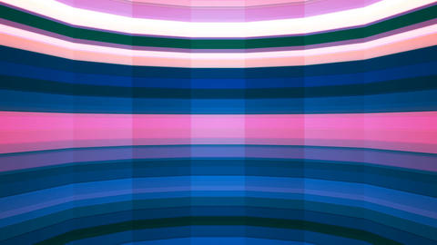 Broadcast Twinkling Horizontal Hi-Tech Bars Shaft, Multi Color, Abstract, CG動画素材