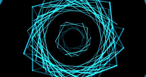 Blue Plexus Tonnel, Stock Animation
