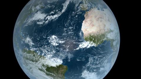 Orbiting over The World Animation