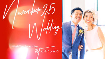 2color/RED & GOLD/Elegant Wedding Endroll Movie/Slideshow After Effectsテンプレート